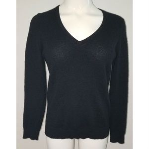 Charter Club Luxury Black 100% Cashmere Sweater SM